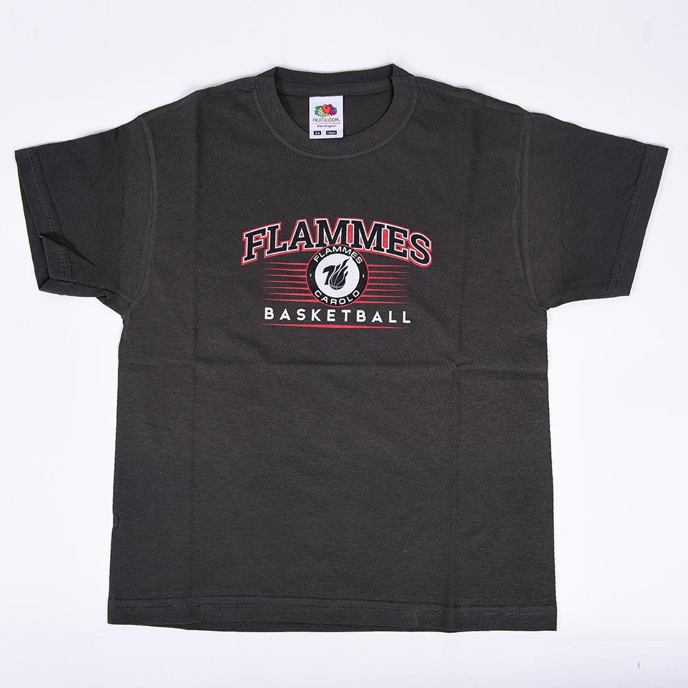 T-shirt gris anthracite - enfant