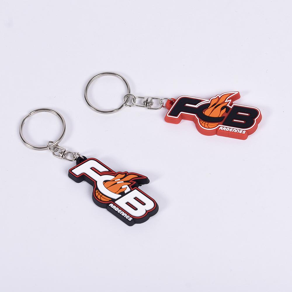 Porte clés FCB - Rouge