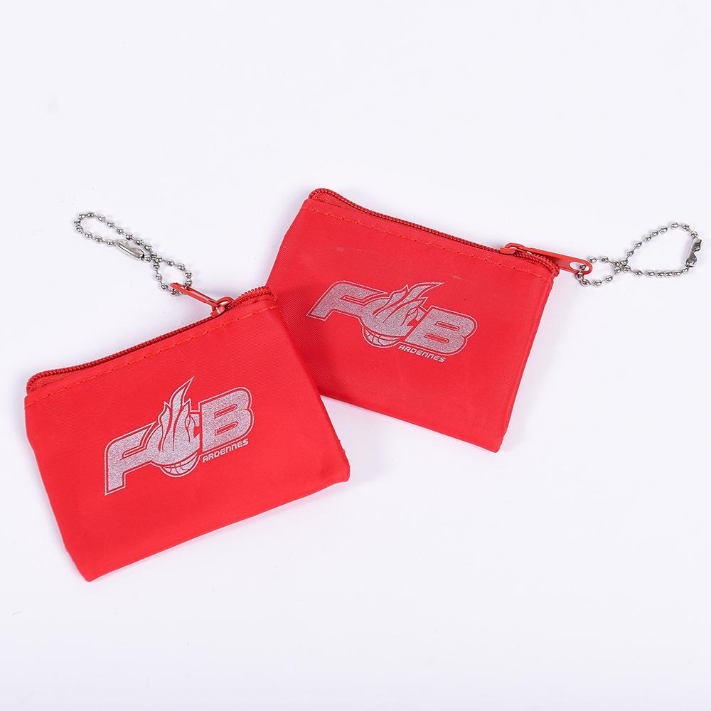 Porte monnaie rouge FCB